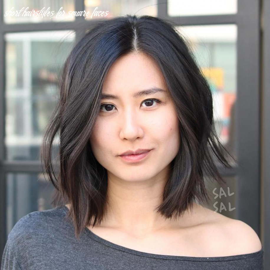 8 best hairstyles for square faces rounding the angles short hairstyles for square faces