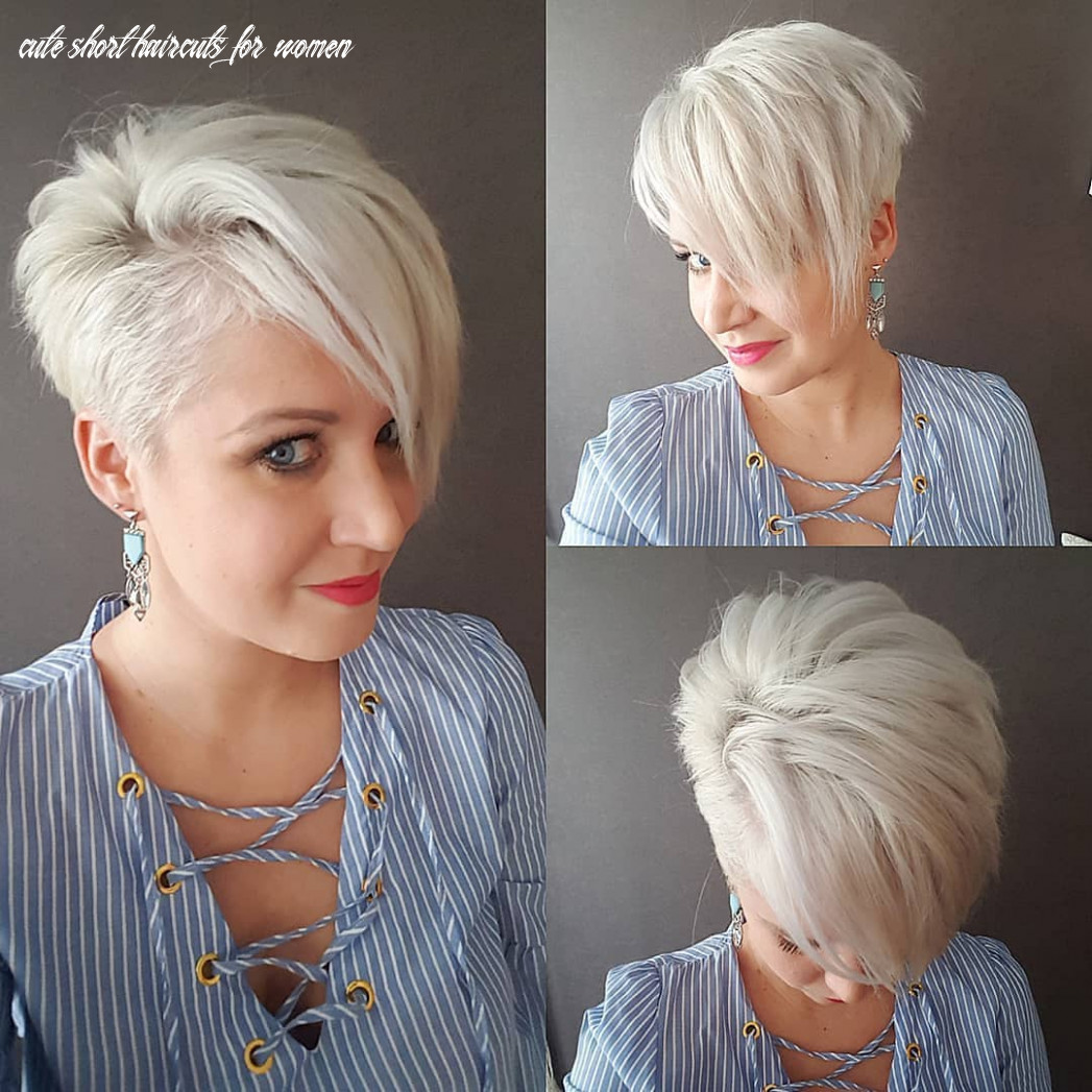 8 cute short haircuts for women wanting a smart new image, 8