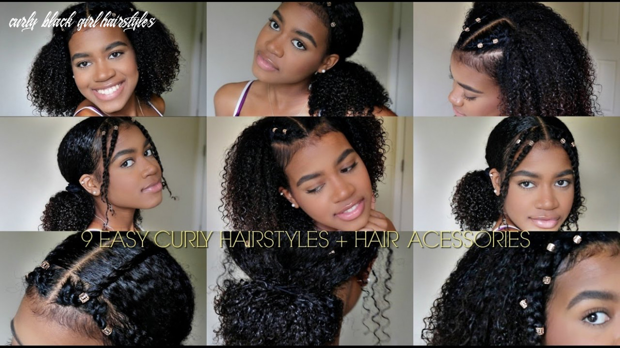 8 easy curly hairstyles (natural hair) hair cuffs curly black girl hairstyles