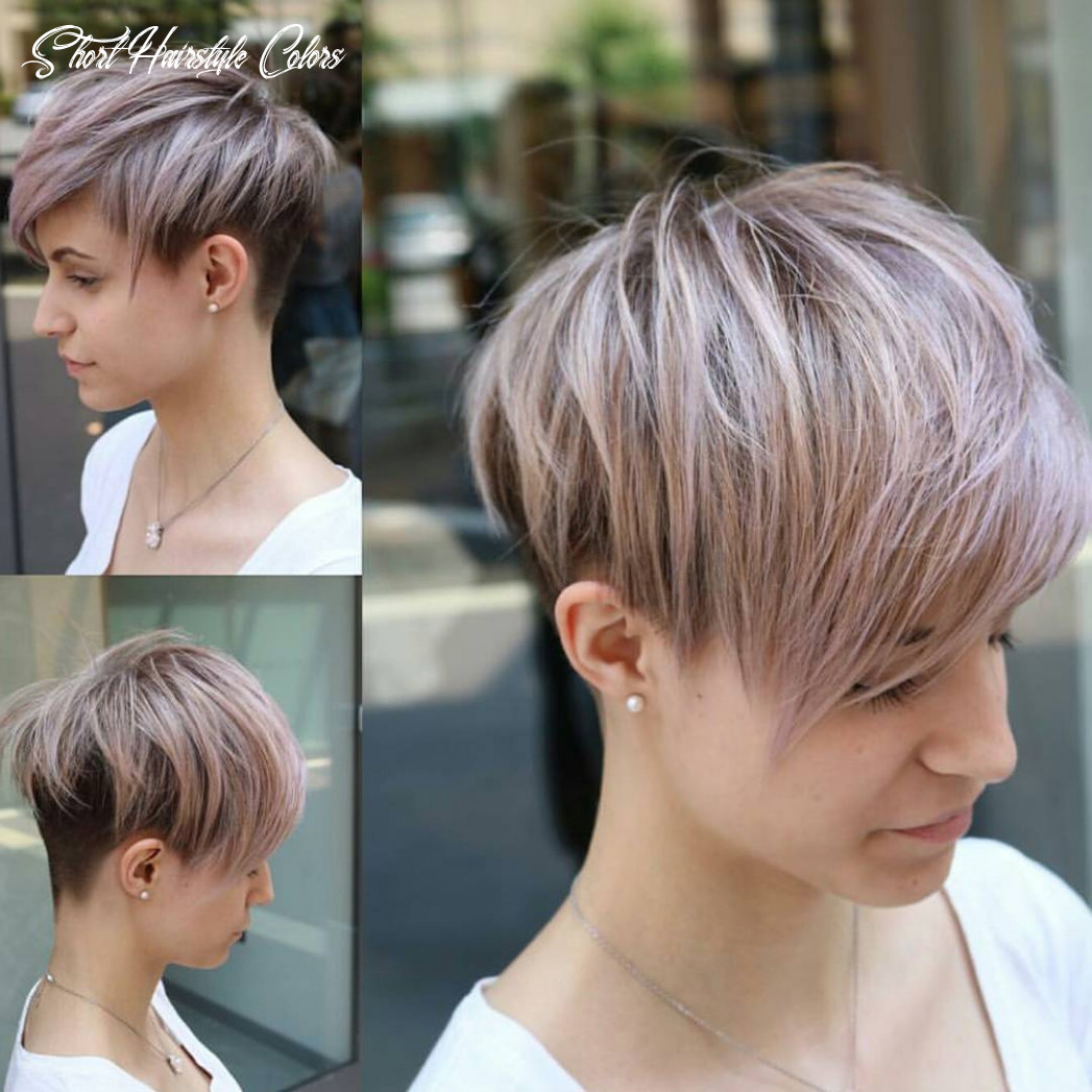 8 easy pixie haircut styles & color ideas 8 short hairstyle colors