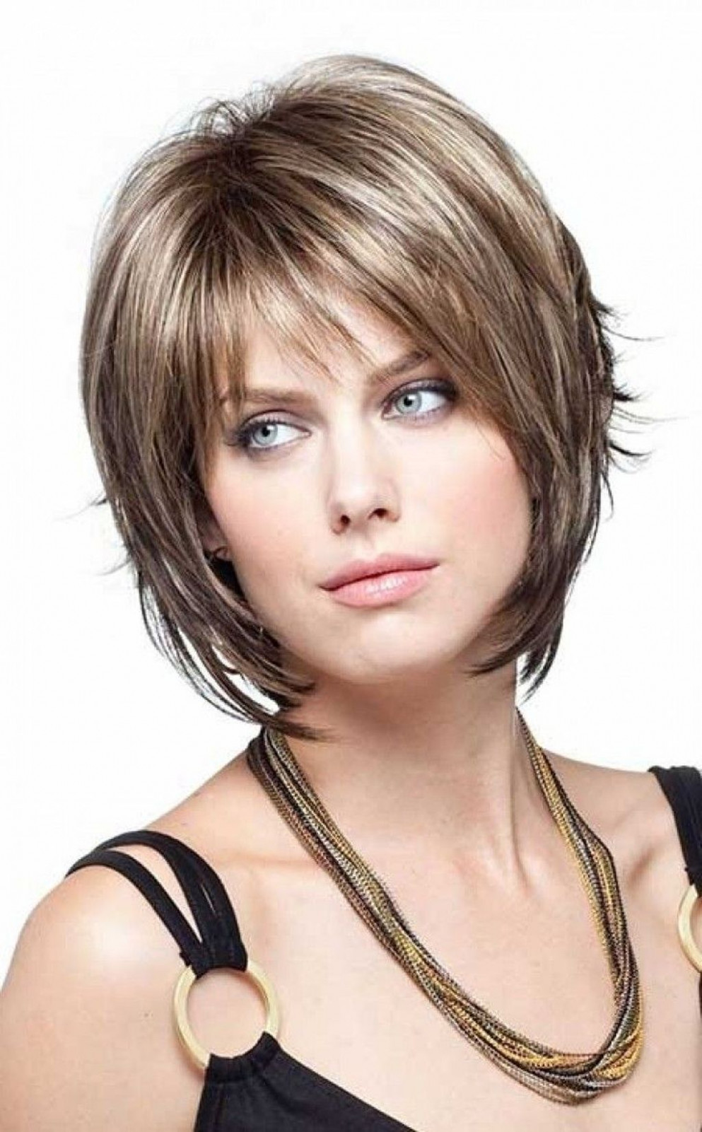 8 fancy bob hairstyles bangs ideas   short hair with layers