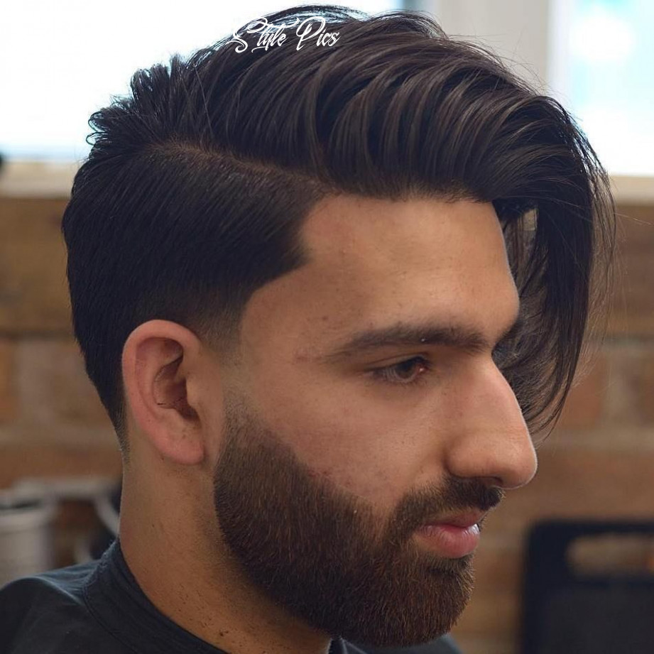 8 statement hairstyles for men with thick hair | long hair styles