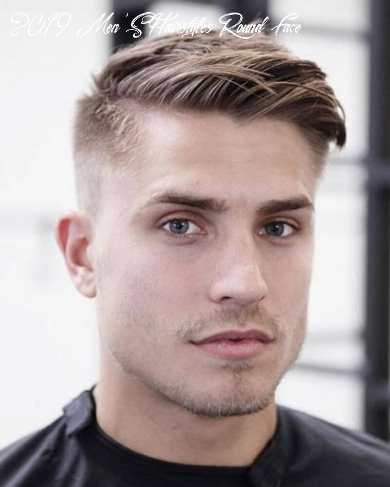 8 stylish hairstyles for men having thick hair and round face
