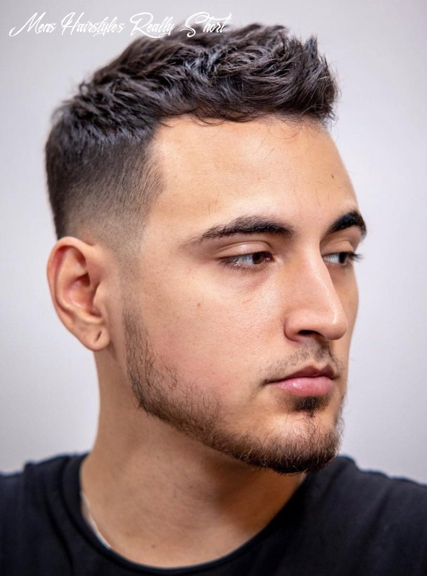 8 unique short hairstyles for men styling tips mens hairstyles really short
