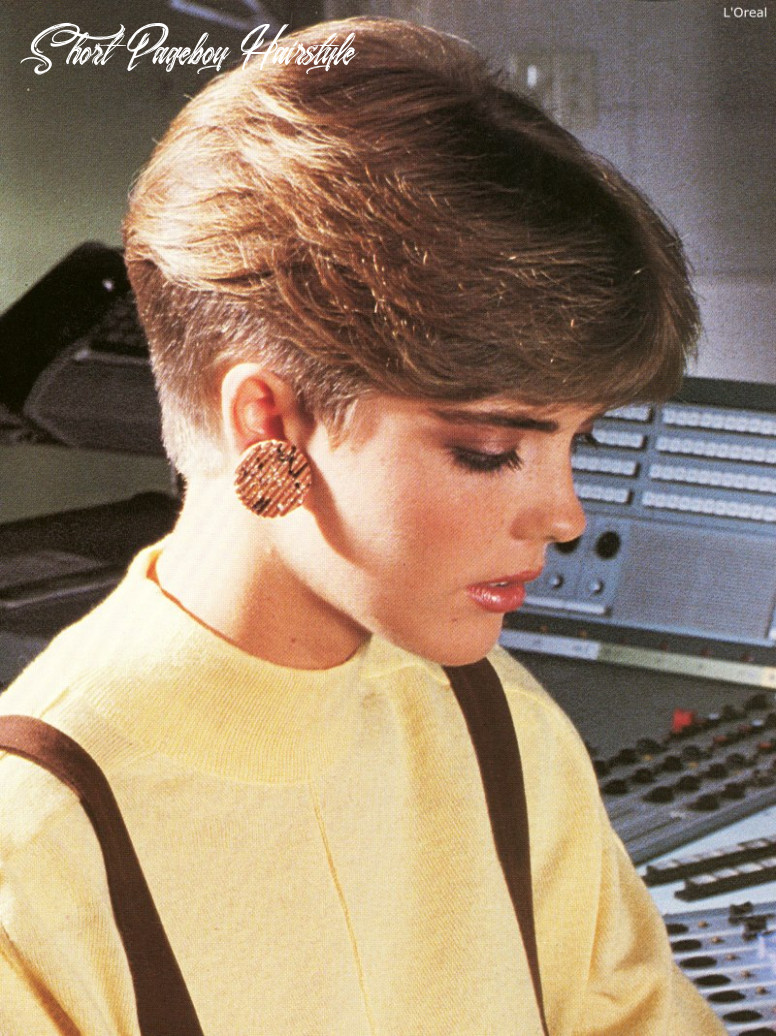 8s short nape haircut inspired by the pageboy short pageboy hairstyle