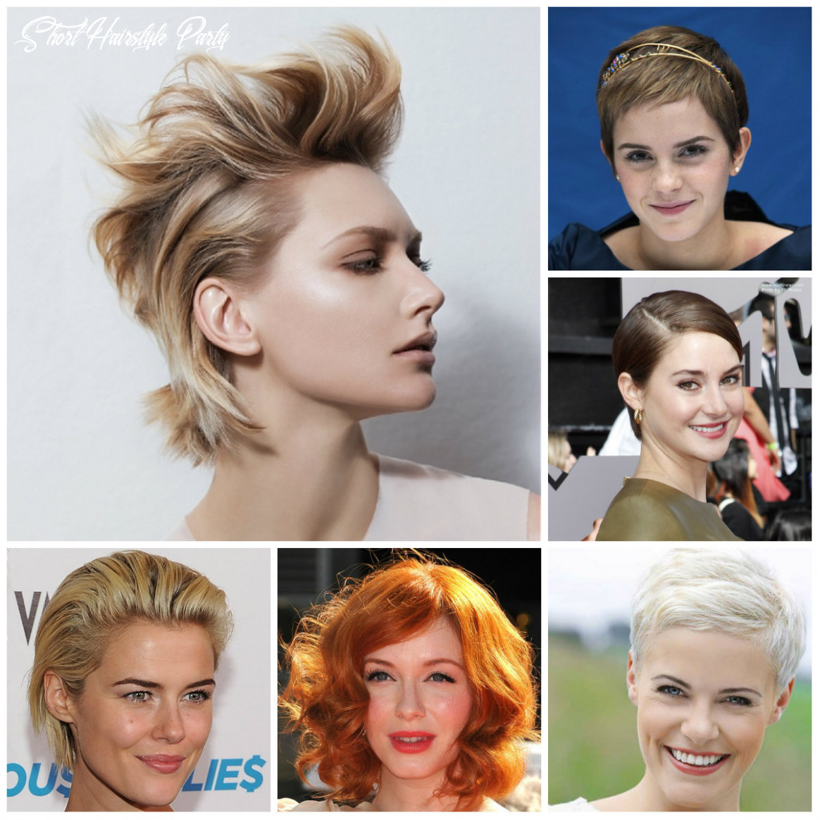 9 best party hairstyles for short haircuts   9 haircuts