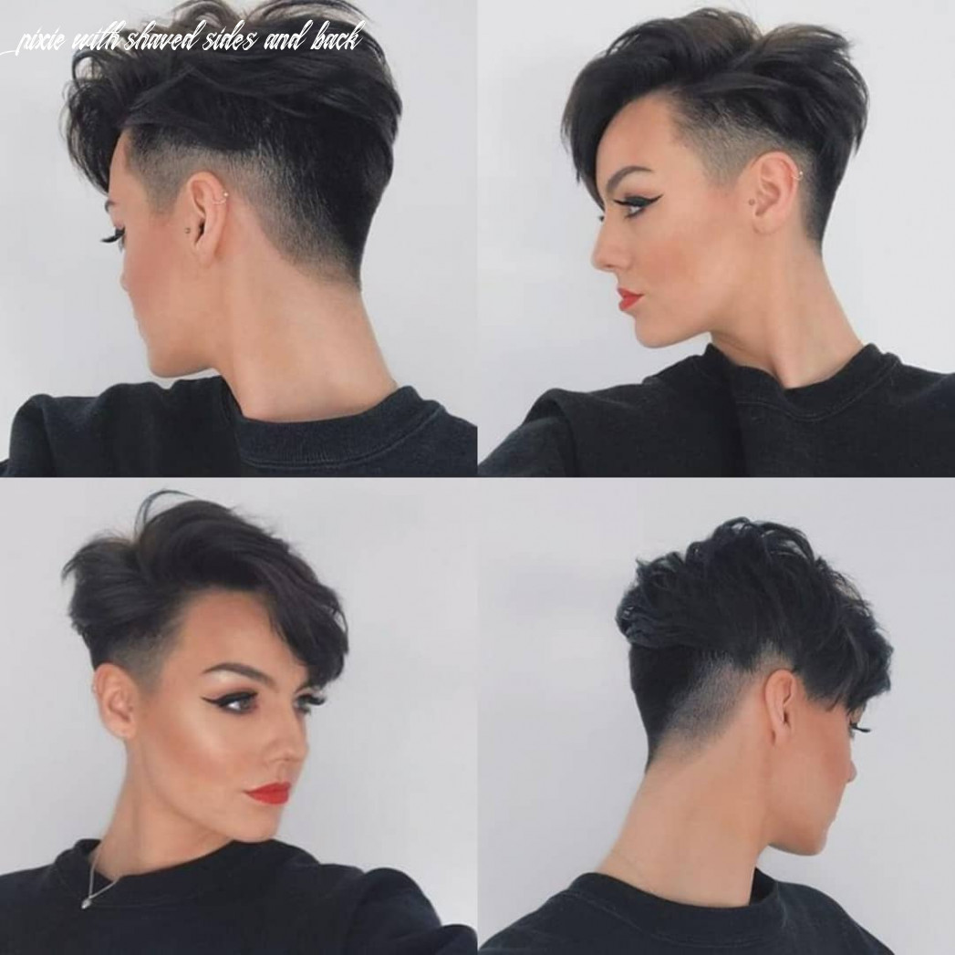 9 best pixie cut hairstyles for 9 you will want to see pixie with shaved sides and back