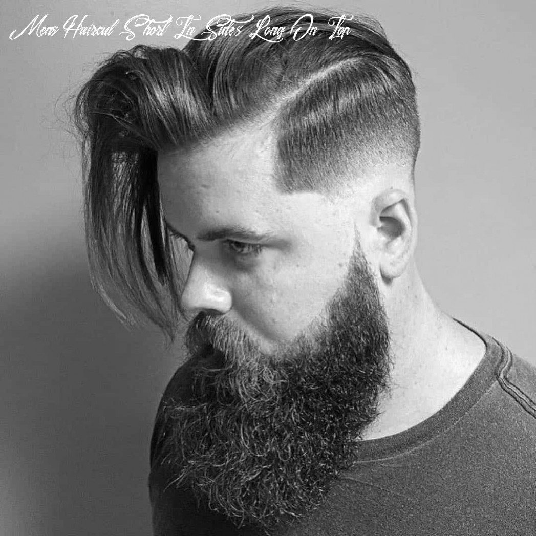 9 creative short on sides long on top haircuts [9 ideas] mens haircut short in sides long on top