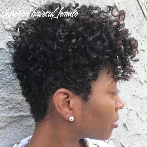 9 cute tapered natural hairstyles for afro hair tapered haircut female