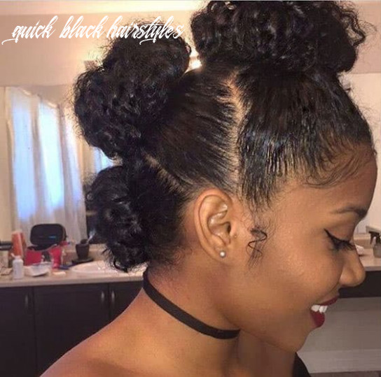 9 gorgeous natural hairstyles for black women (quick, cute & easy) quick black hairstyles