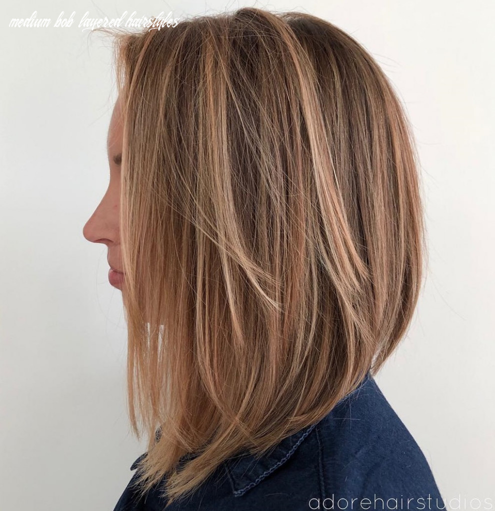 9 layered bobs you will fall in love with hair adviser medium bob layered hairstyles