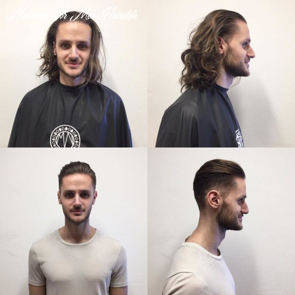 9 long haired men undergo dramatic haircut makeover makeover for men hairstyle