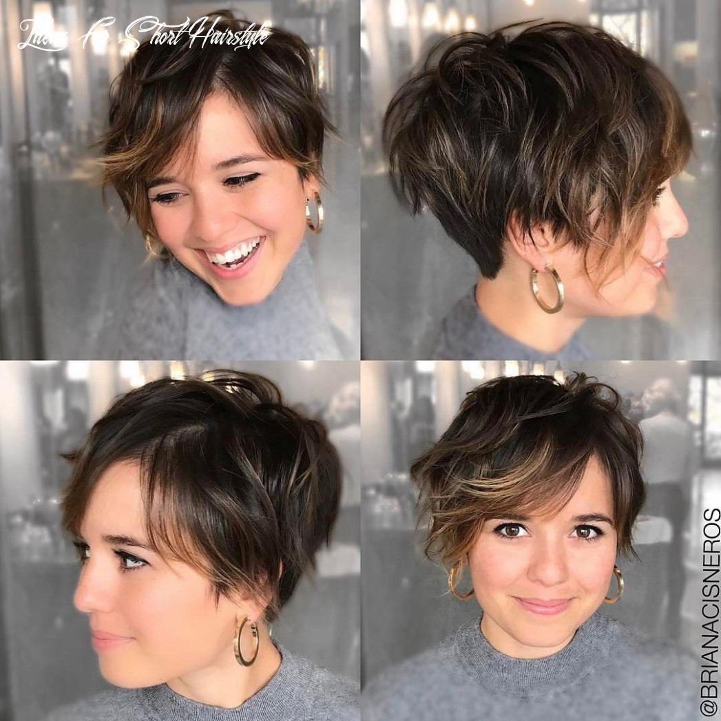 9 short hairstyles for round faces with slimming effect hadviser ideas for short hairstyle