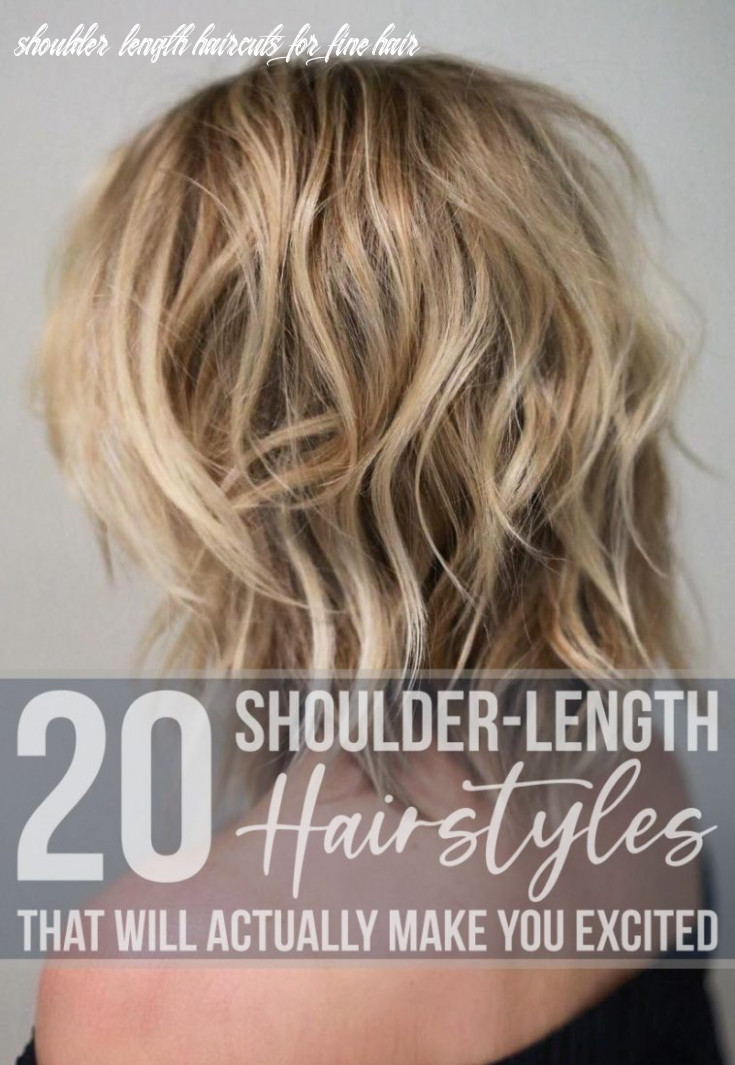 9 shoulder length hairstyles that will actually make you excited shoulder length haircuts for fine hair