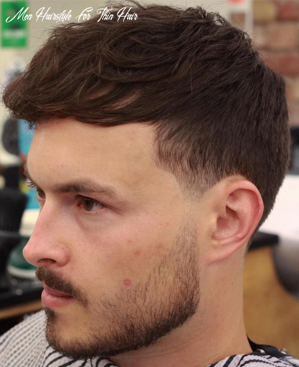 9 stylish hairstyles for men with thin hair | haircuts for