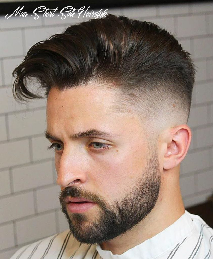 9 unique short hairstyles for men styling tips man short side hairstyle