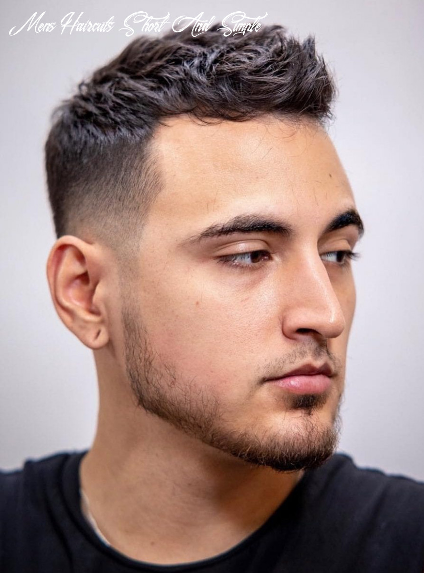9 unique short hairstyles for men styling tips mens haircuts short and simple