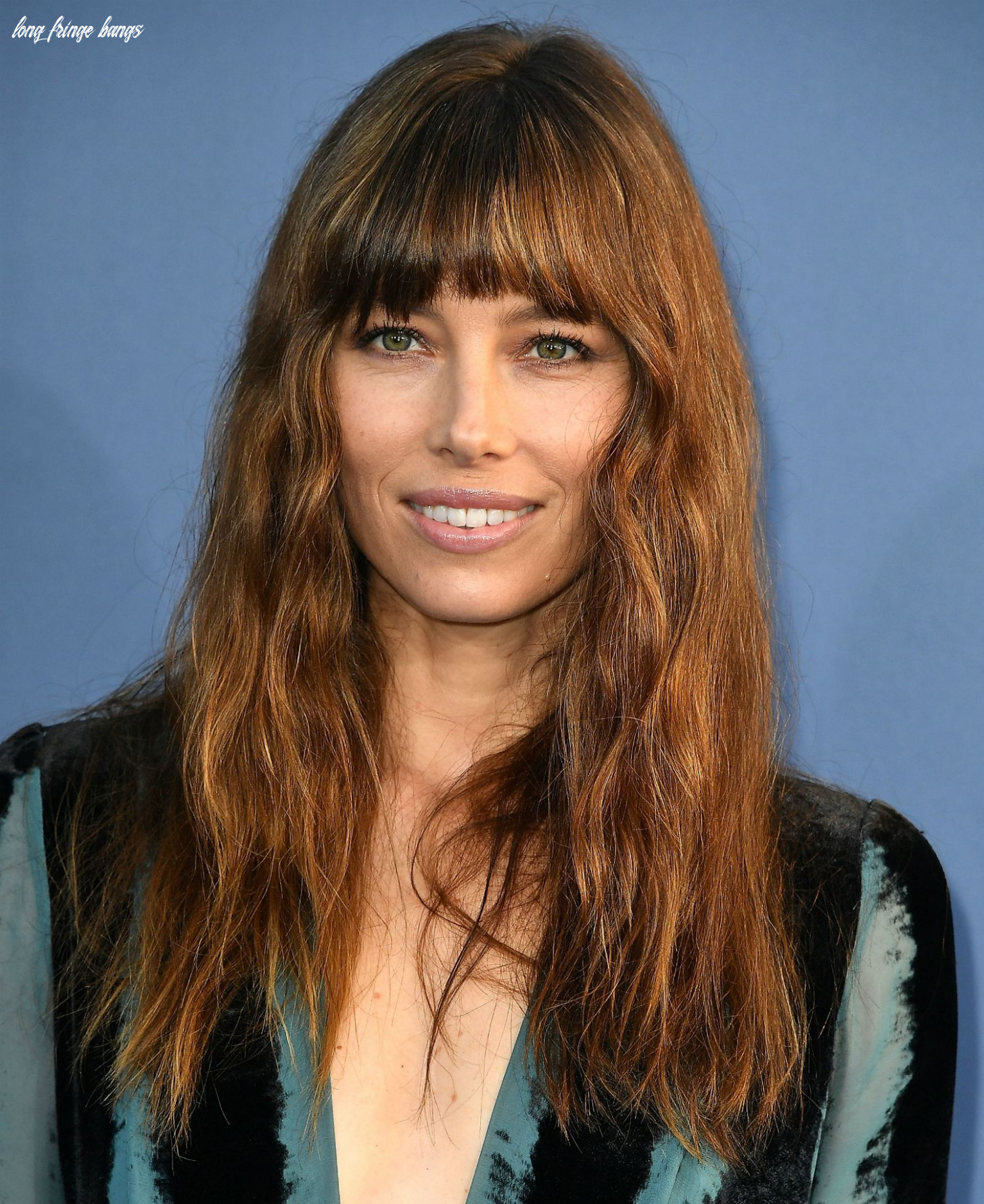 A gallery of hairstyles featuring fringe bangs long fringe bangs