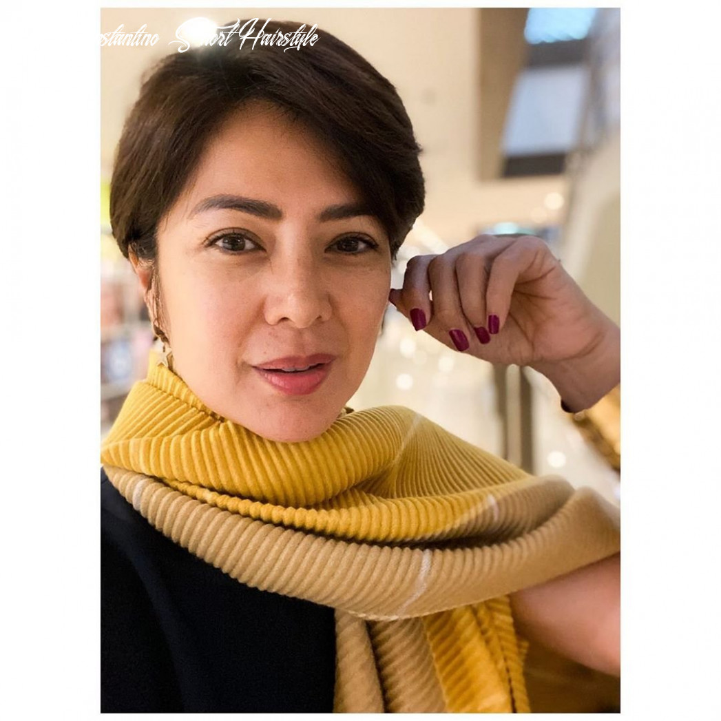 Alice dixson shows off new look for 11 the fanboy seo yeng constantino short hairstyle
