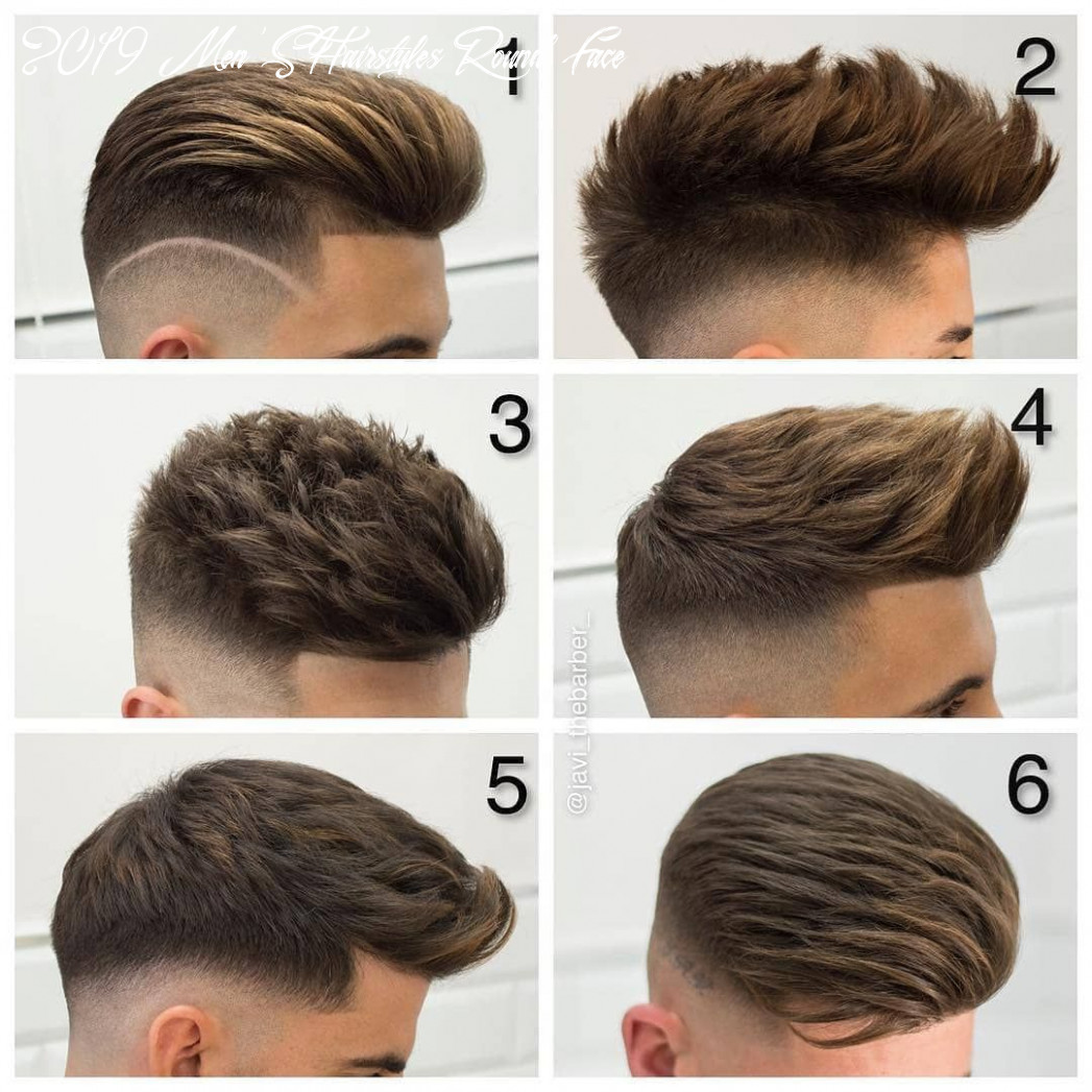 Appropriate hairstyle ideas for men with round faces 8 page 8