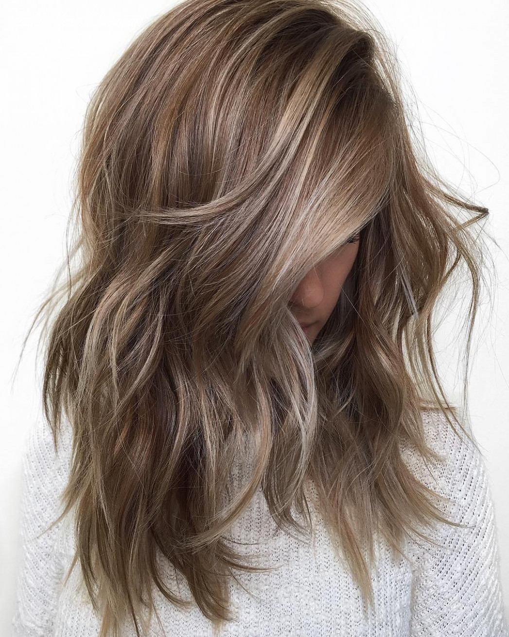 Balayage ombre hair styles for shoulder length hair nicestyles shoulder length balayage