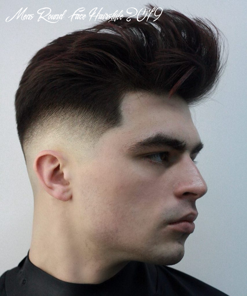 Best hairstyles for round faces for men mens round face hairstyle 2019