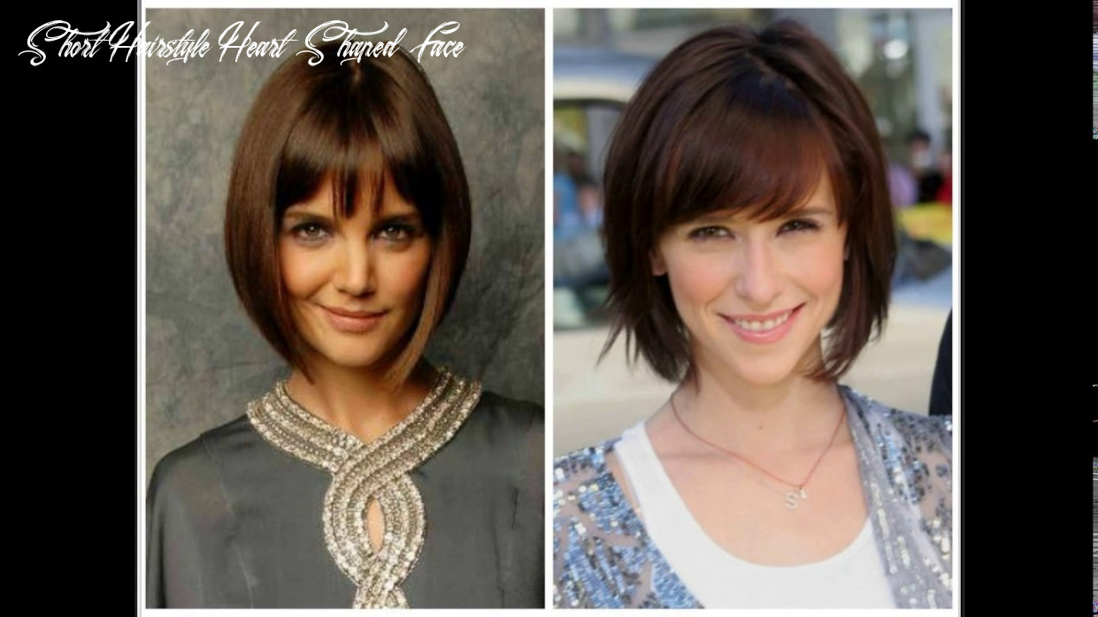 Best short haircuts for heart shaped faces youtube short hairstyle heart shaped face
