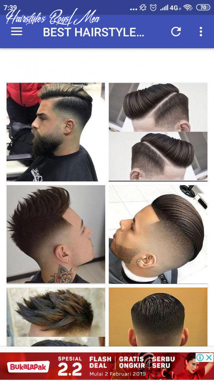 Boys men hairstyles and boys hair cuts new 10 pour android