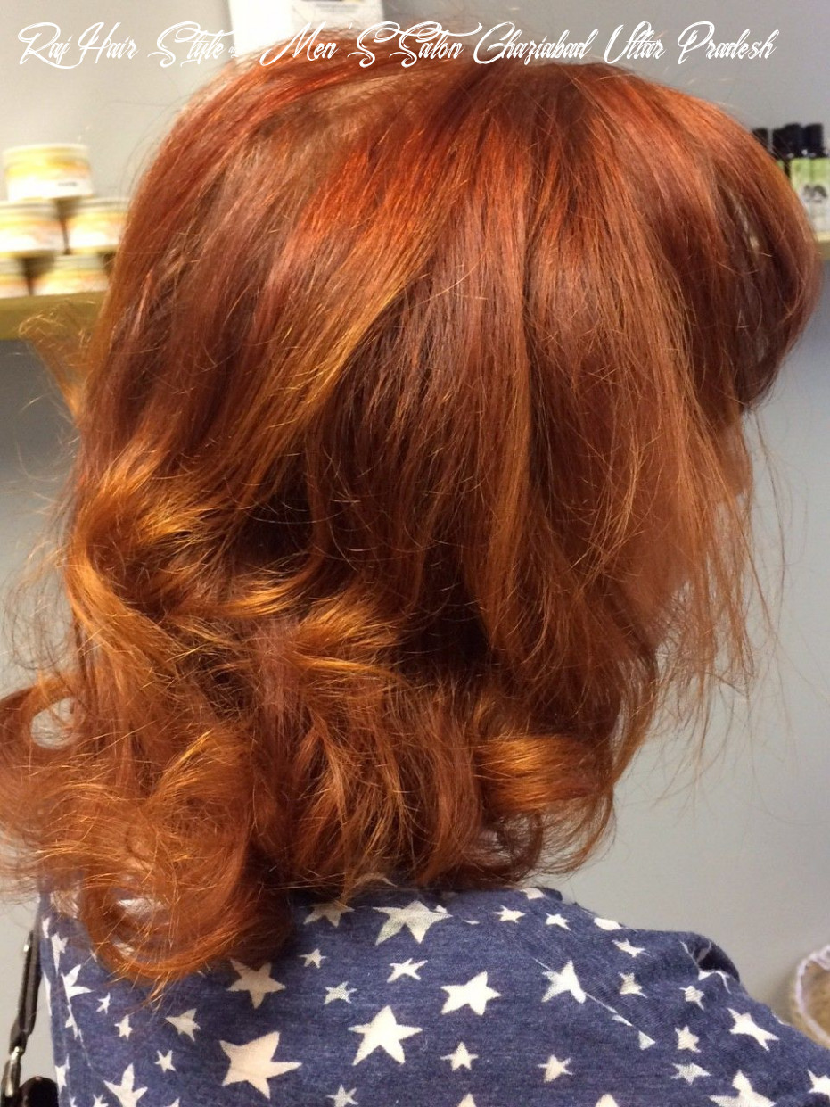 Carole with her gorgeous red raj henna hair came into the studio