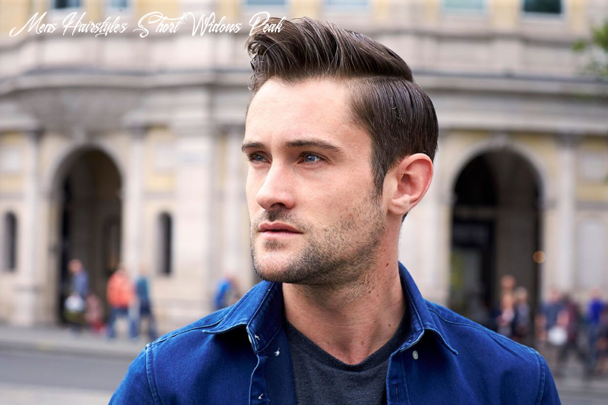 Cool widow lace hairstyles for men | mens hairstyles widows peak