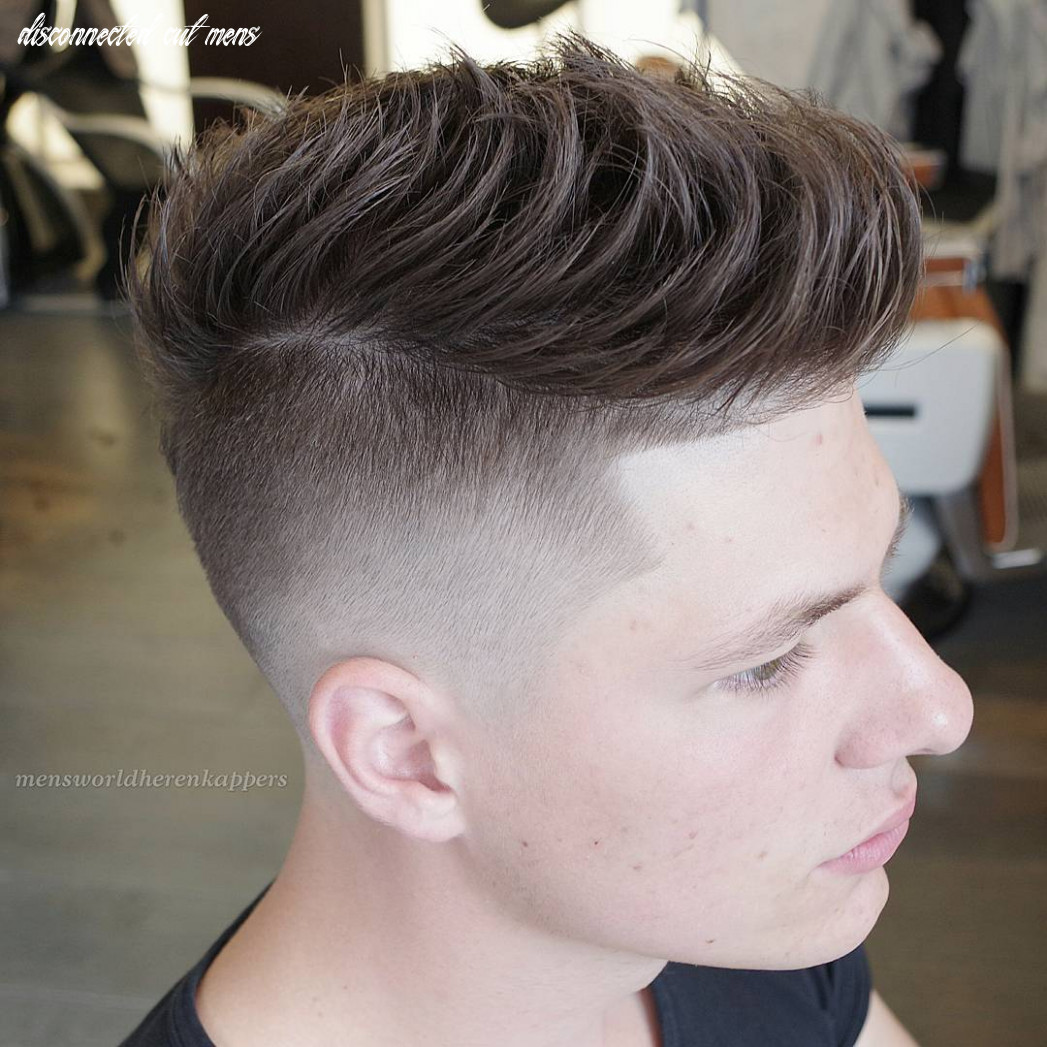 Disconnected undercut haircut for men in 9   mens haircuts trends disconnected cut mens