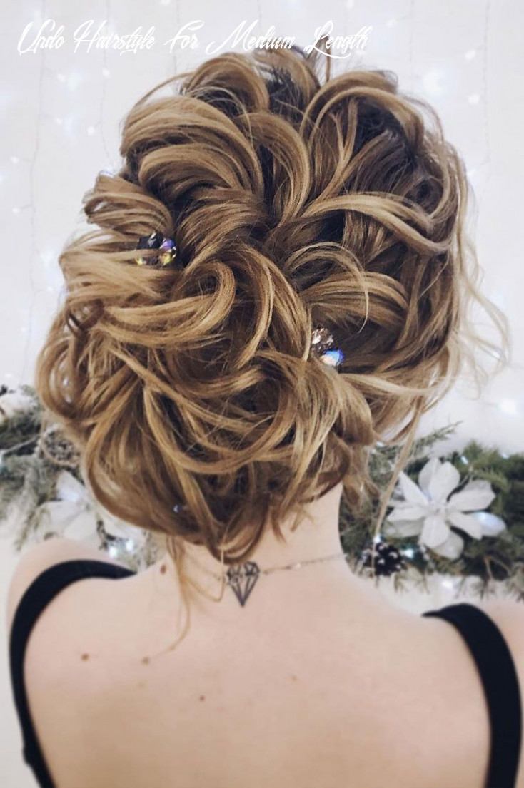 Gorgeous updo wedding hairstyle to inspire you updo hairstyle for medium length