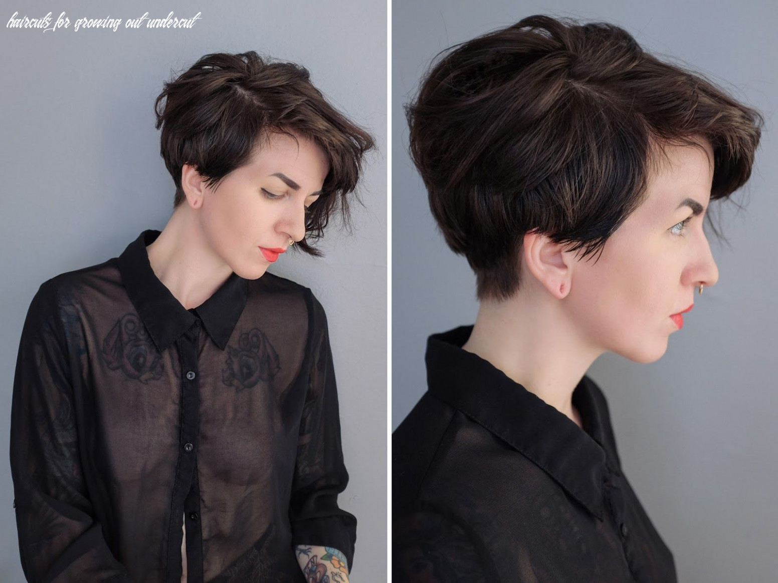 Growing out an undercut   undercut hairstyles, growing out hair