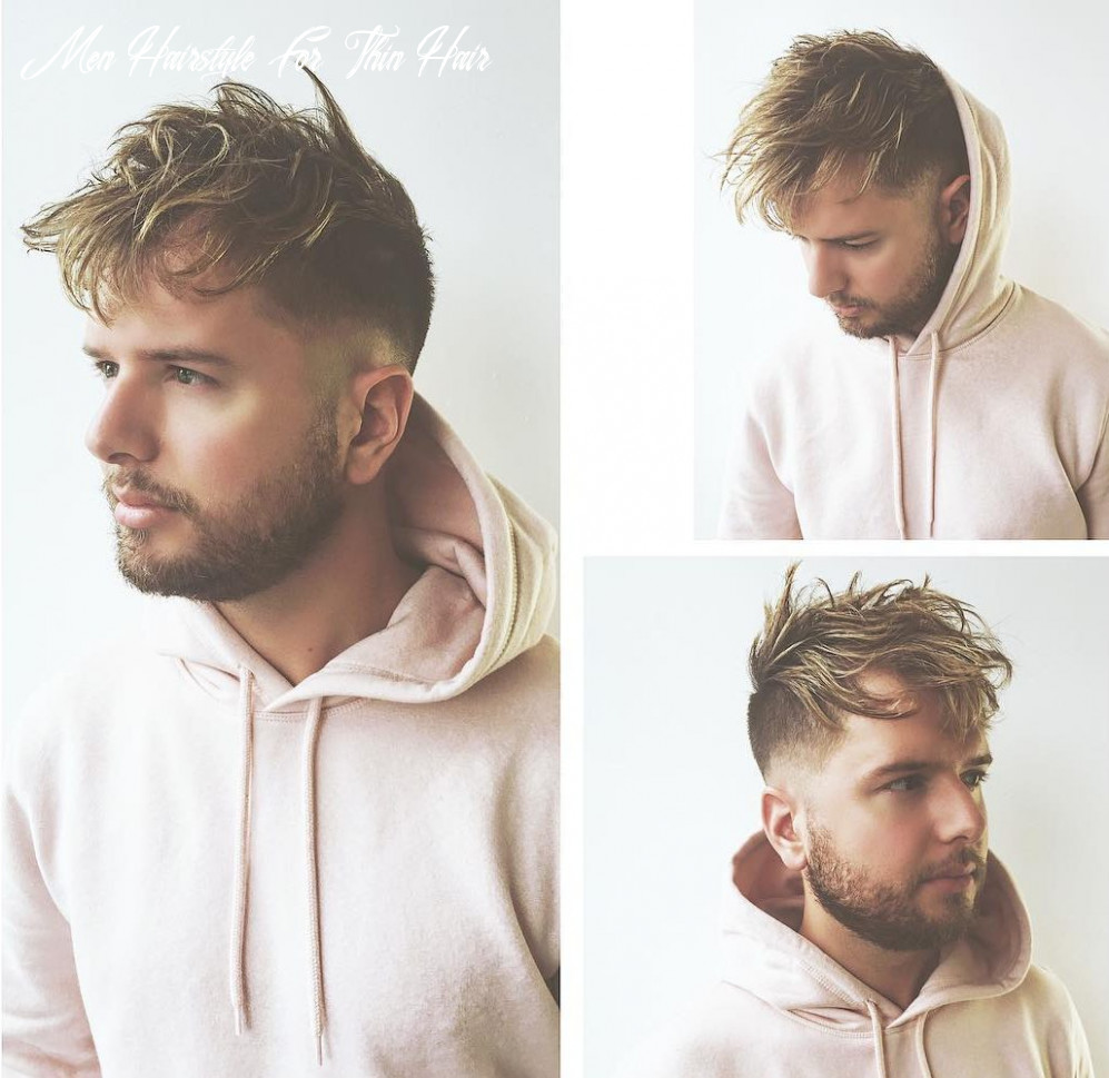 Haircuts for men with thin hair men hairstyle for thin hair