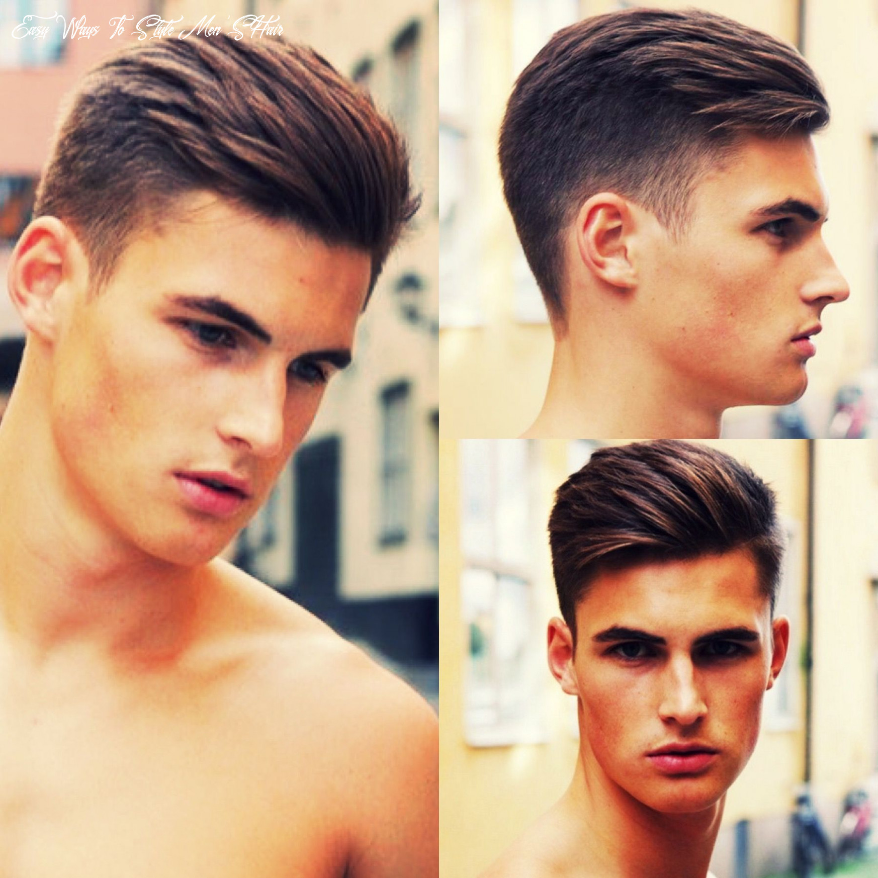 Hairstyle angles | gents hair style, mens hairstyles short, medium