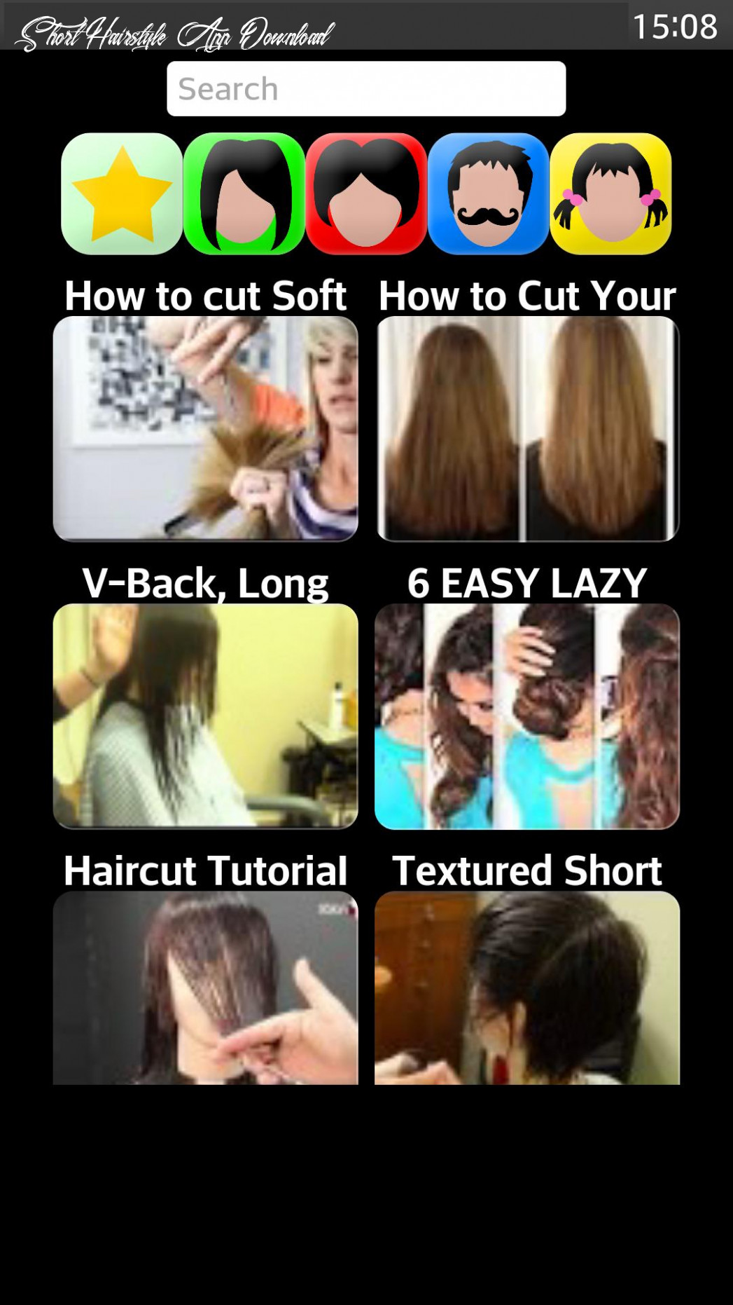 Hairstyle app for android apk download short hairstyle app download