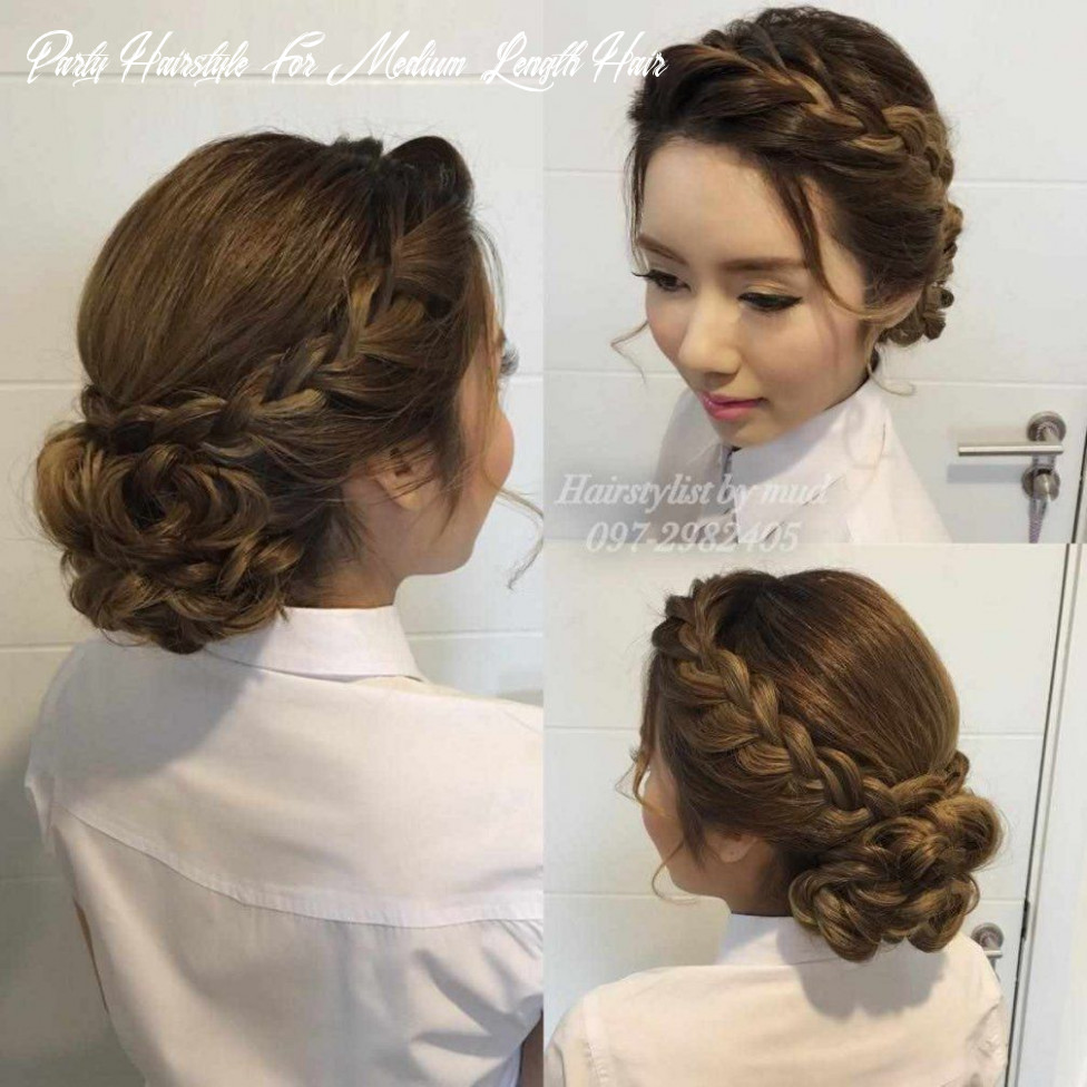 Hairstyles for medium hair for party protective medium hairstyle