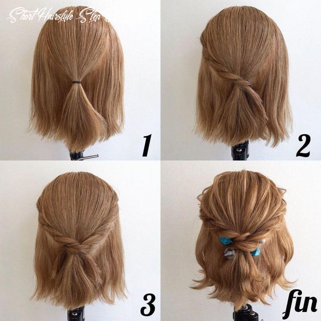 Hairstyles for short hair step by step for android apk download short hairstyle step by step