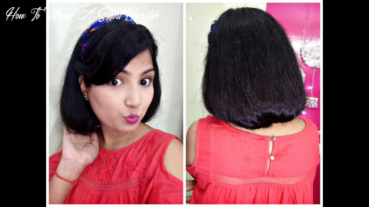 How to make a faux bob | how to fake short hair how to weave a short hairstyle