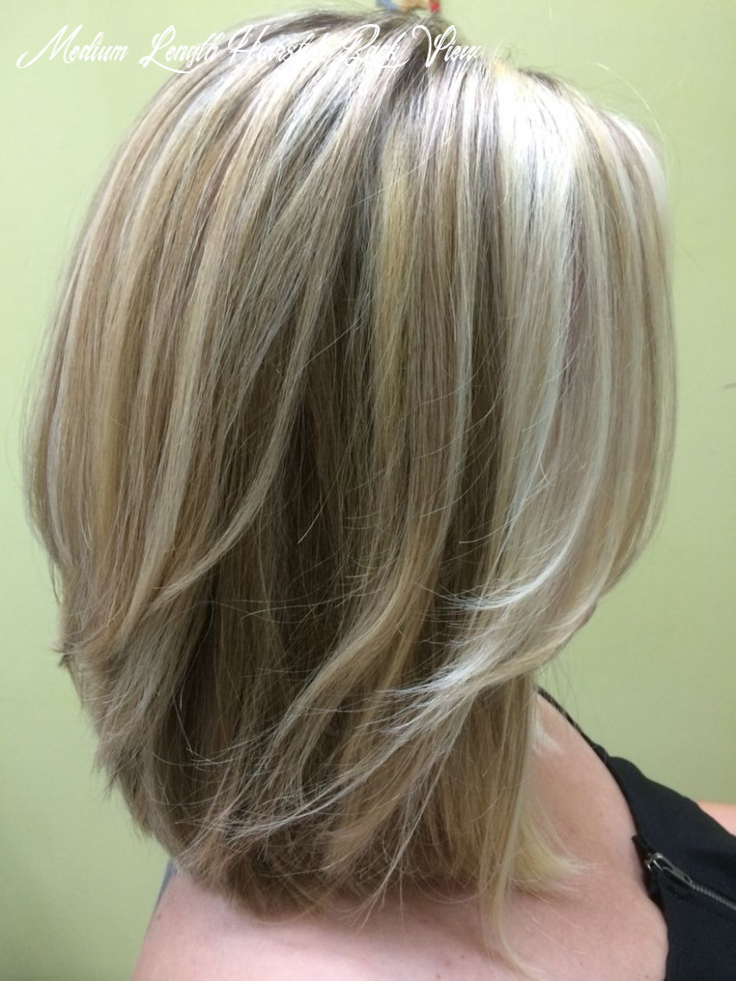 Image result for back view of medium layered haircuts   medium