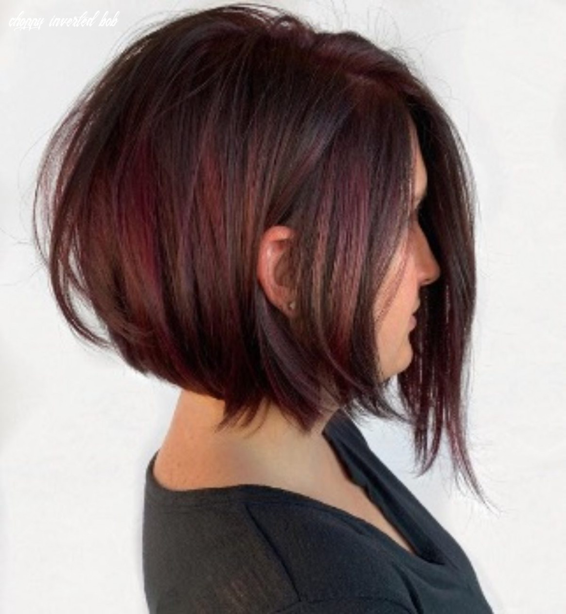 Inspiring versatility and classy feel of a stylish inverted bob