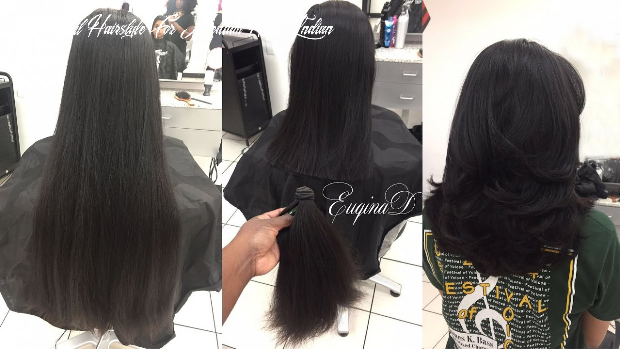 Layered haircut after locks of love donation thick indian hair layer cut hairstyle for medium hair indian