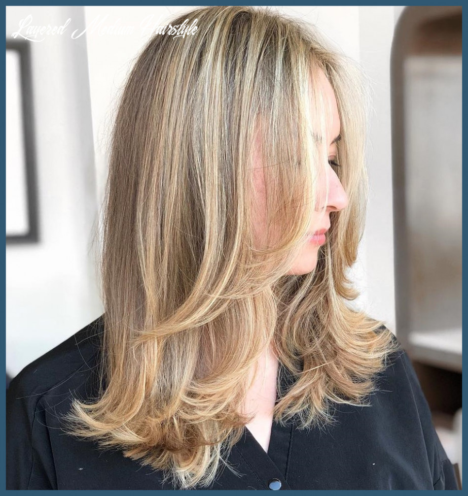 Medium haircuts with layers 12 must try medium length layered
