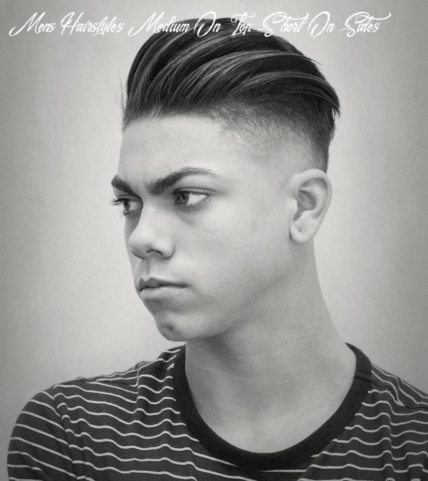 Medium length hairstyles for men: 12 styles for 12 mens hairstyles medium on top short on sides