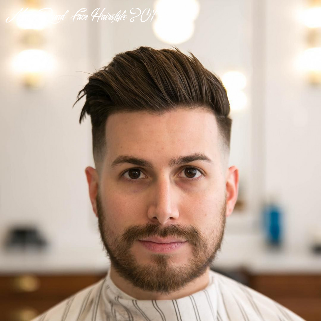 Men hairstyle 9 for round face verzameling mens round face hairstyle 2019