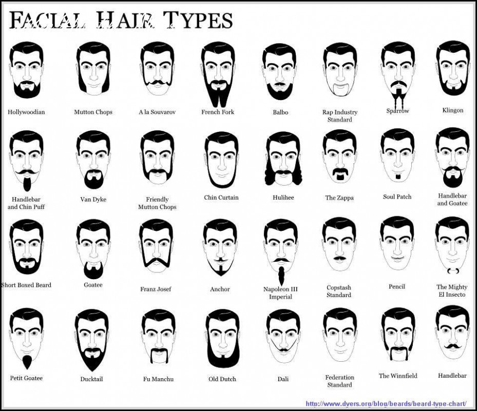 Names of facial hair styles you need to know beards styles trend