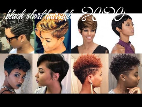 Natural short pixie hairstyles for black women 12 & 12 youtube black short hairstyles 2020