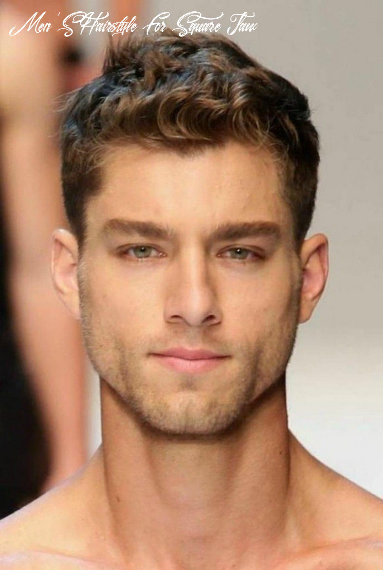 Pin by olga hilario on face shape: square | mens hairstyles curly