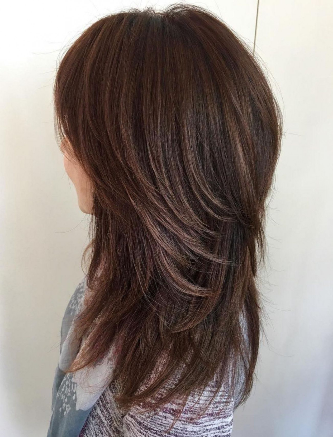 Pin on all bout hair long shaggy hairstyles 2018