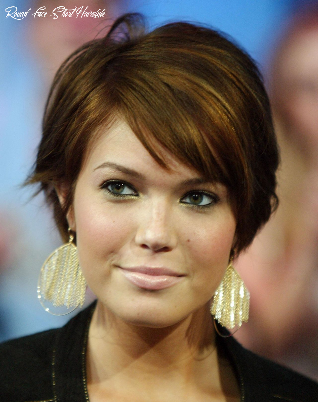 Pin on beauty round face short hairstyle
